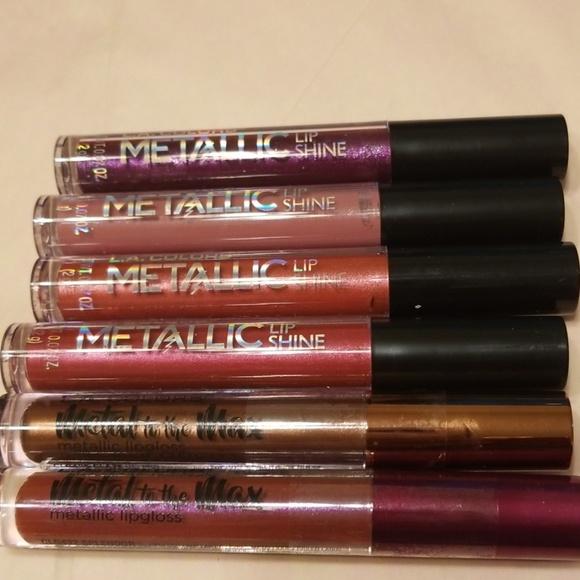 L.A. Colors Other - ❤NEW Metallic & Metal L A Colors Lipgloss